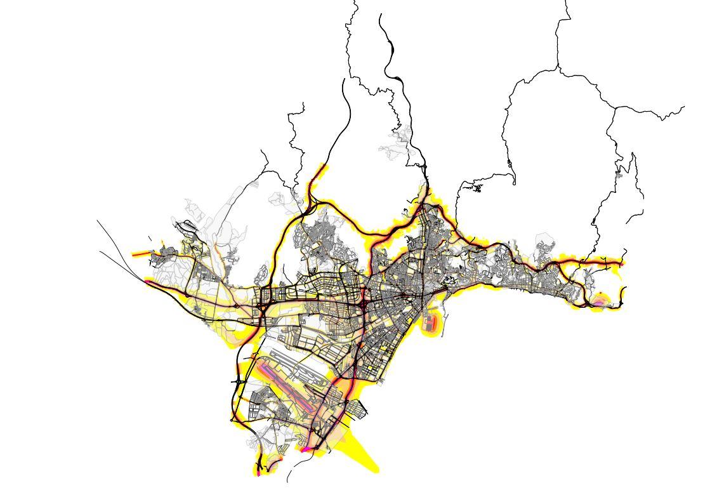 mapas de ruido en malaga, estudio acustico malaga, mapas acusticos andalucia, estudios acusticos andalucia, mapas acusticos granada