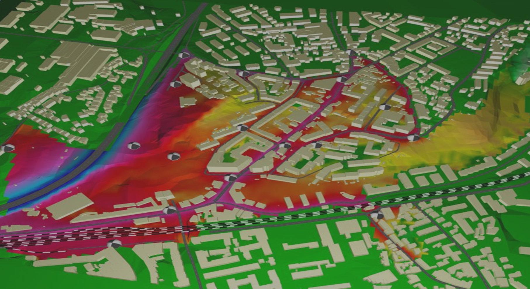 mapas de ruido en malaga, estudio acustico malaga, mapas acusticos andalucia, estudios acusticos andalucia